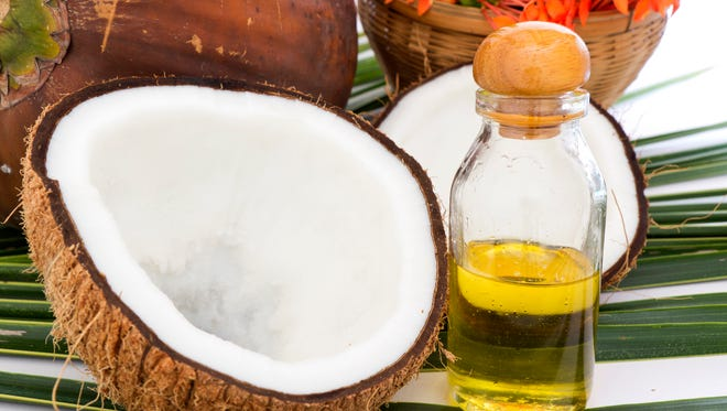 Coconut oil is the main ingredient in Nature's Face-lift.