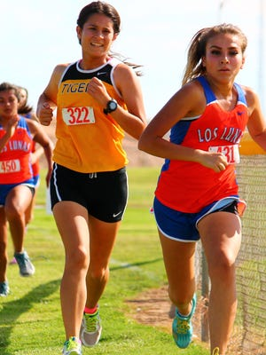 The Alamogordo girls cross country team finished second at the Alamogordo Invitational on Friday afternoon at the Griggs Sports Complex.