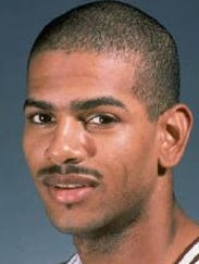 Marcus Grant as a senior at Mississippi State in the