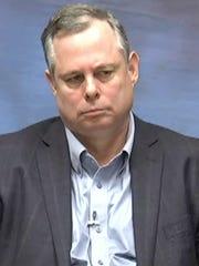 Former BMV Chief of Staff Shawn Walters