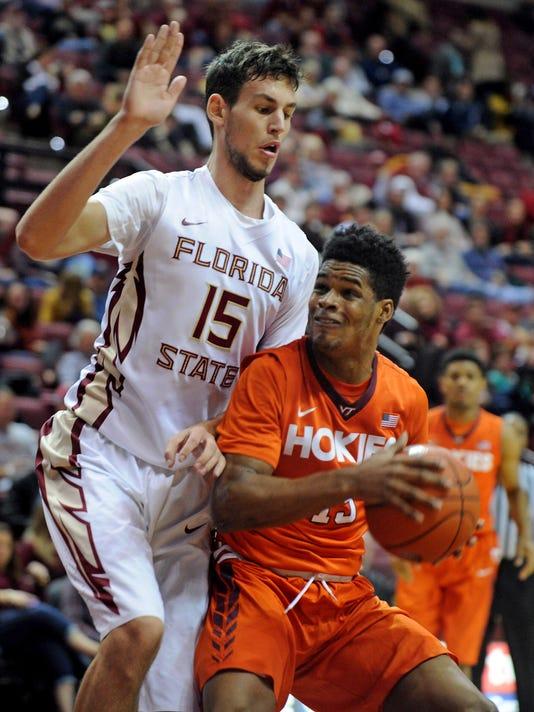 NCAA Basketball: Virginia Tech at Florida State