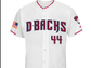 Diamondbacks' Independence Day uniform.