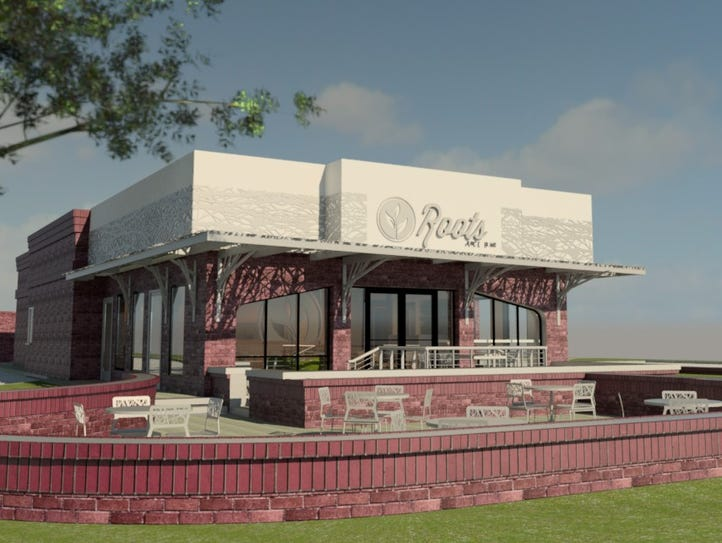 This is a rendering of the new Roots in downtown Redding.