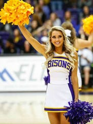 Lindsey Nance played basketball, volleyball and ran track at Lipscomb Academy and his now a cheerleader at Lipscomb University.
