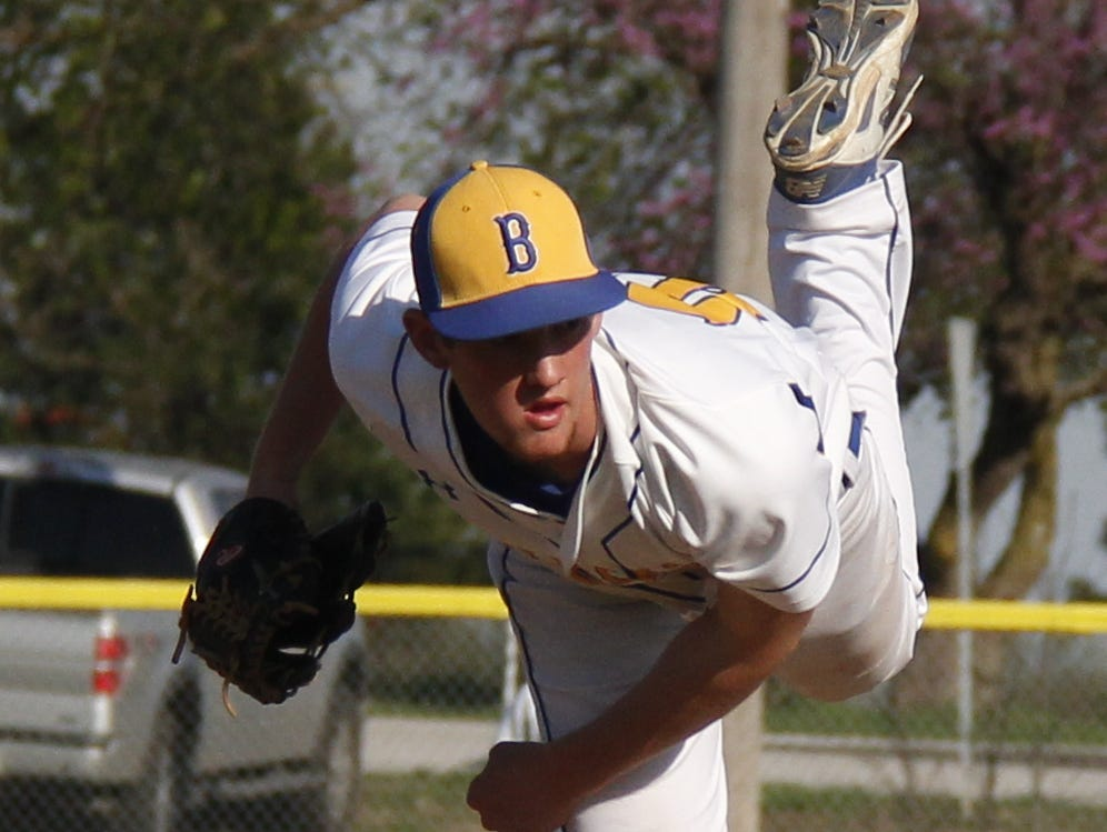 Billings pitcher Nolan McCain tossed a complete game and had two base hits in a 4-2 win over Ash Grove Friday afternoon in Billings.