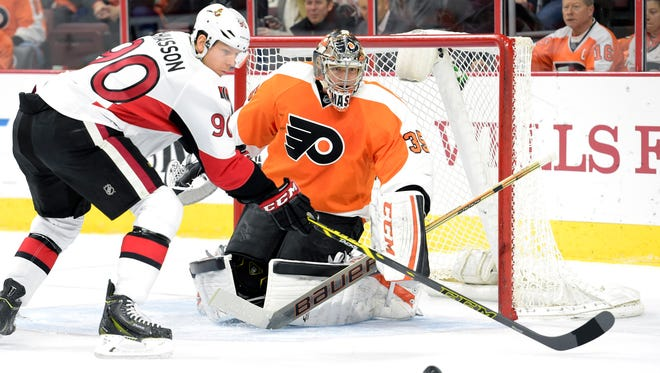 Alex Chiasson and the Senators need one point out of today's game to clinch a playoff berth.