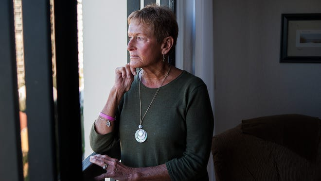 Carly DeThorn, 72, of Wilmington, N.C., adopted at birth by a family from Cedar Grove, is hoping to find her biological parents. New Jersey will allow people who were given up for adoption to get their birth records after Sunday.