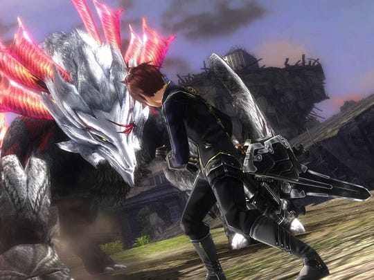 Fight fantastic beasts and find them in God Eater 2 Rage Burst.