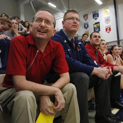 Central Catholic assistant girls basketball coach Jeff