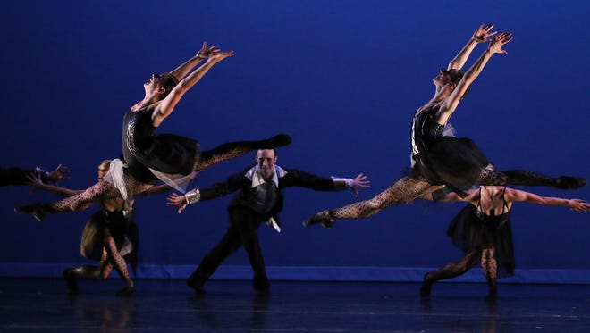 The Rochester City Ballet performed some of their pieces to music by David Bowie.  They also had several guest dancers including Webster's Jim Nowakowski.