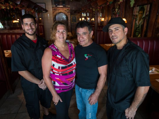 The Salvatore family are the owners of Mangia Bene
