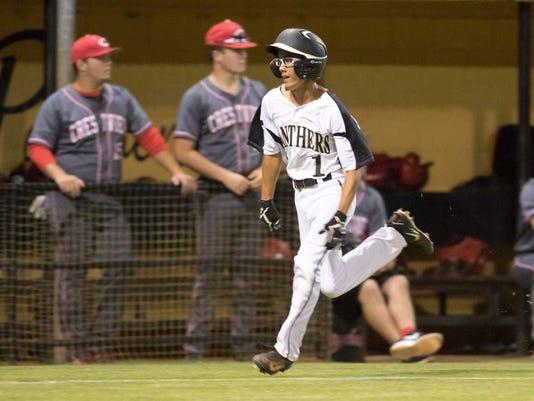 Crestview vs Milton baseball