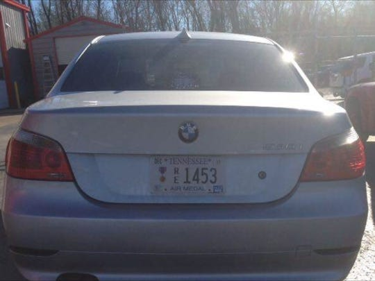 Medina police are looking for a stolen silver 2004