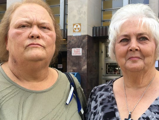 Libby Johnson (left) and Sharon Yarbrough