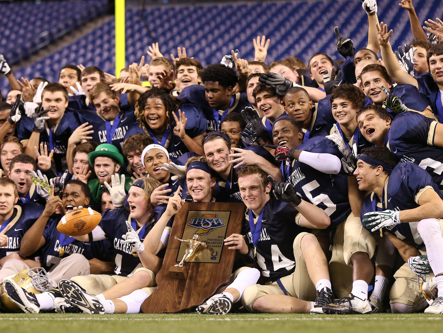 Can Cathedral repeat in Class 5A?