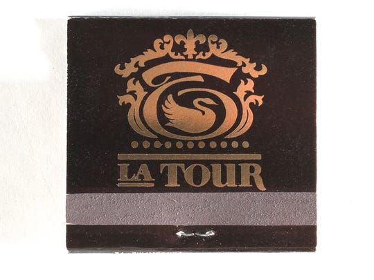 La Tour matchbook