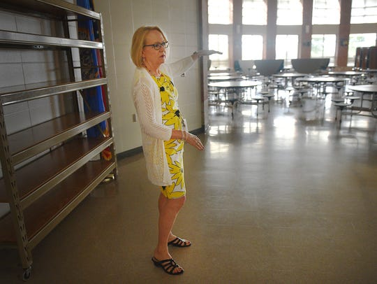 Principal Carrie Aaron talks about how they remodeled