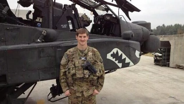 Chief Warrant Officer 2 Kevin M. Weiss, 32, of McHenry, Illinois.