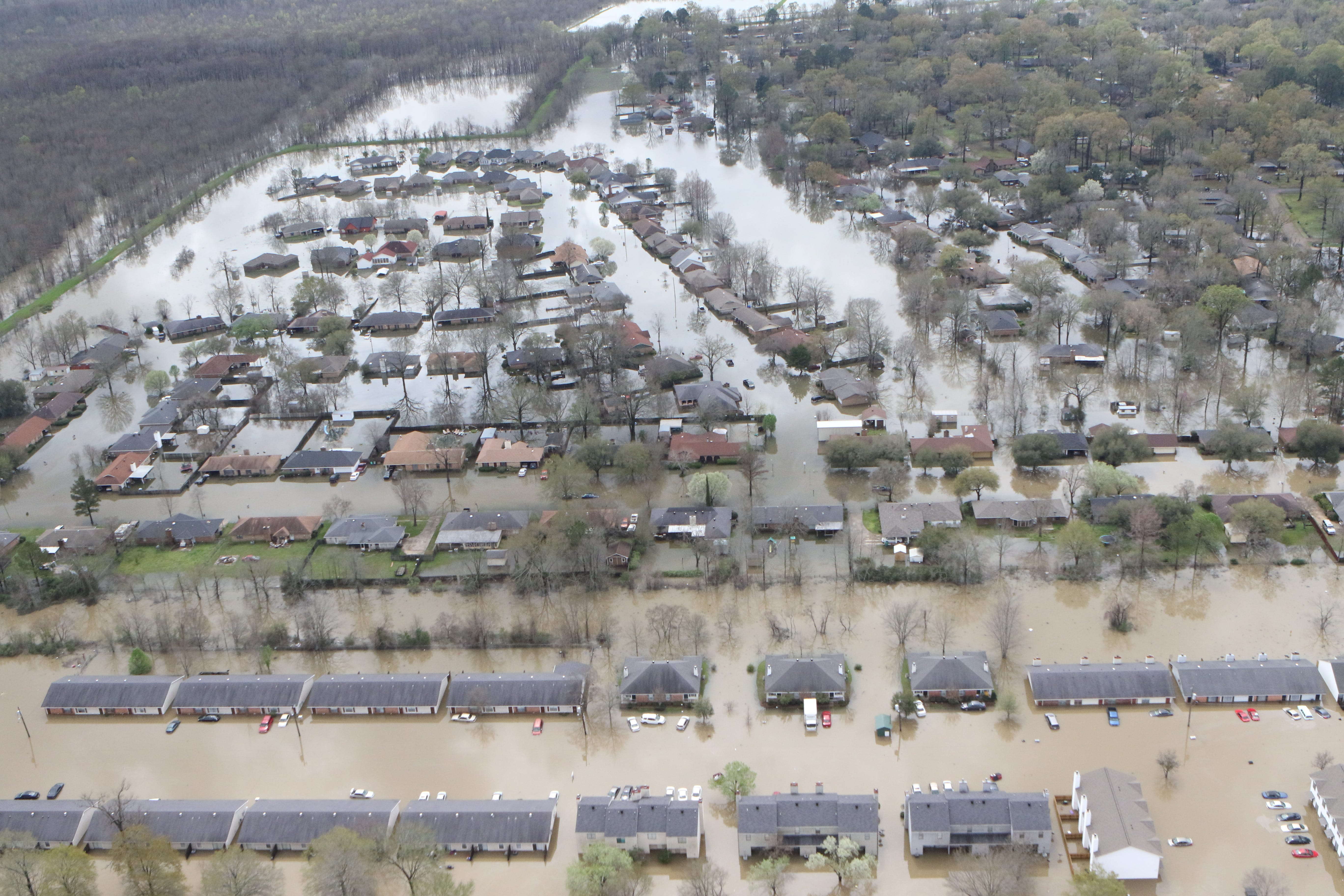 Dangerous Heights Region Tested As River Chauvin Rise