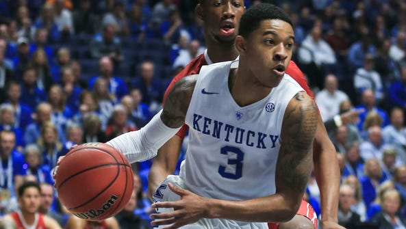 Kentucky's Tyler Ulis had 17 points with his five assists