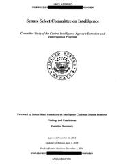 This is a copy of the cover of the CIA torture report