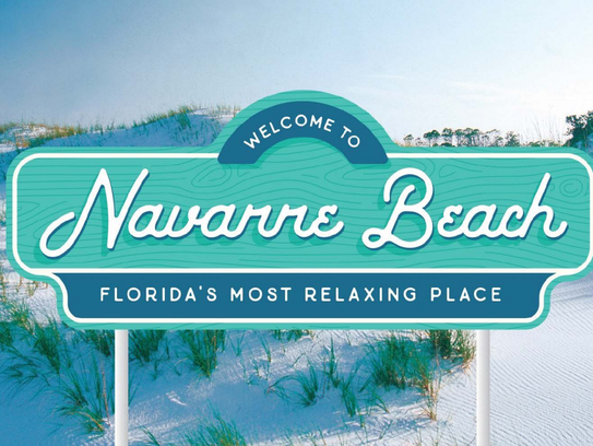 This image shows what the new signs at the Navarre
