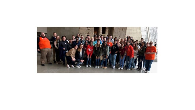 World Language students from Millville High School recently visited the Metropolitan Museum of Art in New York City to discover works of art and learn more about global cultures.