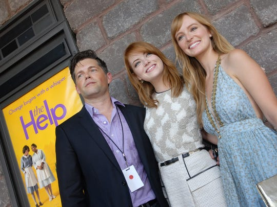 Producer Brunson Green, from left, and actresses Emma