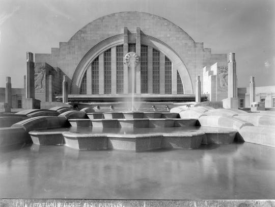 Union Terminal Station in 1933.