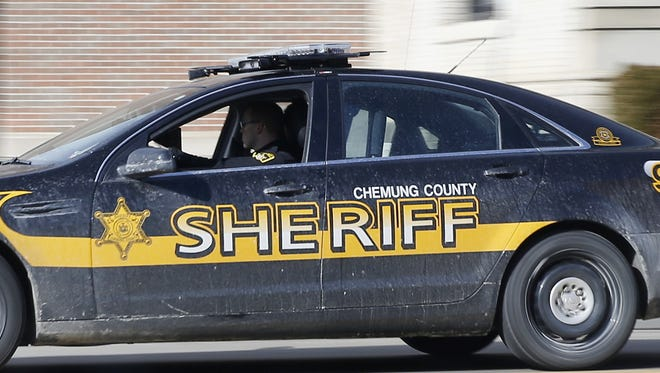 Chemung County Sheriff patrol car.