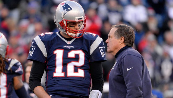 Will Bill Belichick be listing Patriots QB Tom Brady more or less on the new injury report?