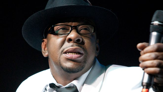 "Singer Bobby Brown, former husband of the late Whitney Houston performs with New Edition at Mohegan Sun Casino in Uncasville, Conn on Feb. 18, 2012. Brown told concert goers Saturday, April 18, 2015, that his daughter Bobbi Kristina Brown is awake nearly three months after she was found face down and unresponsive in a tub at her Georgia home. In a video, Brown tells the crowd during a concert appearance at the Verizon Theatre in Dallas, Texas, that ""Bobbi is awake,"" adding that ""she is watching me."""