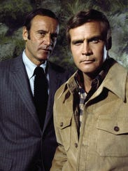 Richard Anderson and Lee Majors starred in the popular