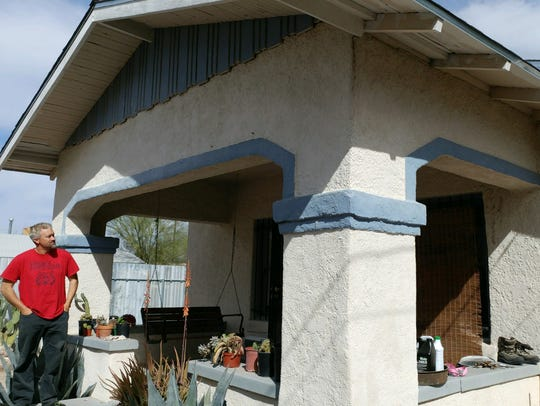 Chet Chalmers now owns  the Tucson home where Larry