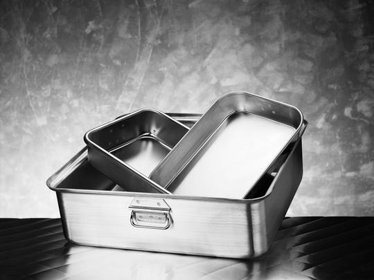 Invest in a good quality roasting pan you can use at Thanksgiving and throughout the year.