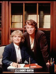 Sharon Gless, left, and Tyne Daly, seen here in a 1994 'Cagney and Lacey' TV movie, starred in the CBS series from 1981 to 1988. A strong fan effort, led by Dorothy Swanson, who would go on to found Viewers for Quality Television, helped the show survive early cancellation.