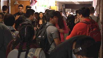 Sparks High School would lose five teaching positions under a new district proposal.