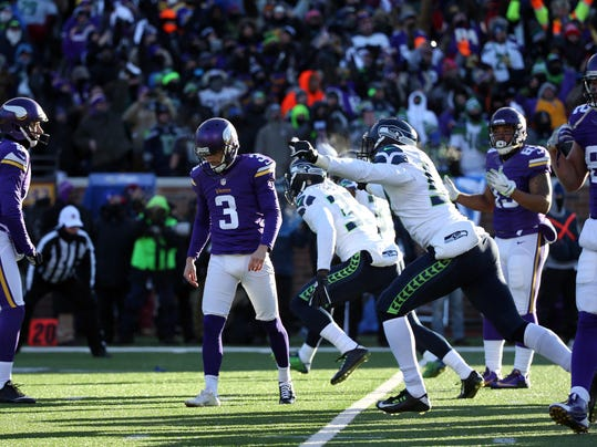 NFL: NFC Wild Card-Seattle Seahawks at Minnesota Vikings