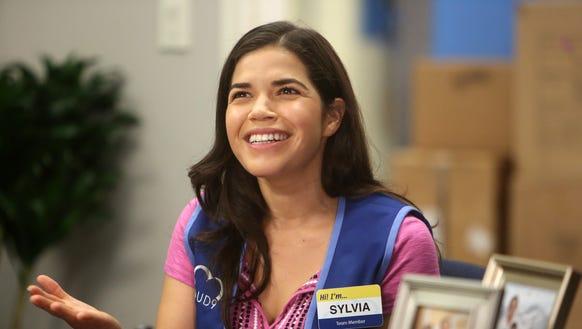 America Ferrera stars in NBC's 'Superstore.'