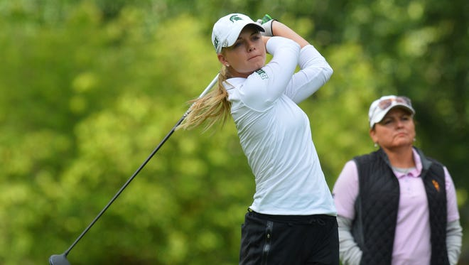 Teams participate in day one of stroke play at the 2016 NCAA Women's Golf National Championship at the Eugene Country Club on Friday in Eugene, Oregon.
