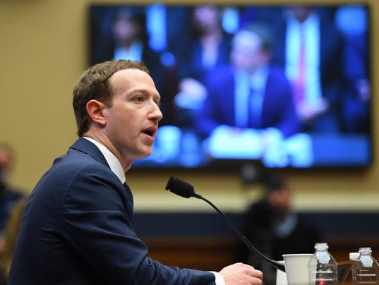 USP NEWS: MARK ZUCKERBERG FACEBOOK TESTIMONY A USA DC