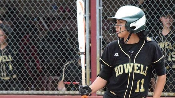 Howell's Veronica Pezzoni appears nine times in the state softball record book for single-season and career accomplishments.