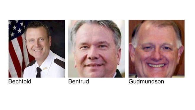 Candidates for Stearns County Sheriff.