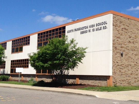 North Farmington High School, 32900 W. 13 Mile, is one of three locations students can get free meals.