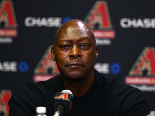 MLB: Arizona Diamondbacks-Press Conference