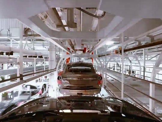 Tesla-Production-Line