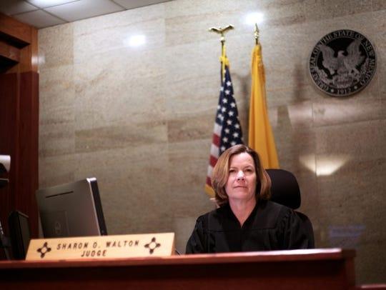 Metropolitan Court Judge Sharon D. Walton, who hears