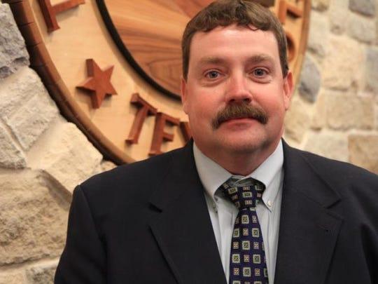 Shane Kelton, operations manager, City of San Angelo