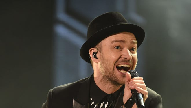 US singer Justin Timberlake performs during the 13th edition of the Mawazine music festival in Rabat, Morocco on May 30, 2013. He will be appearing live on Yahoo Screen on Aug. 24.