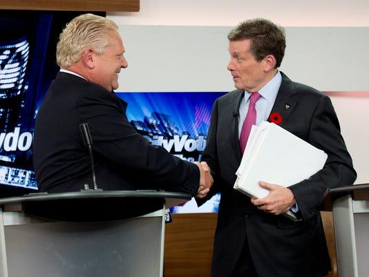 Canada Toronto Mayor (2)